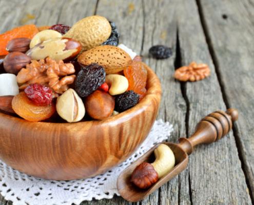 potassio nella frutta secca