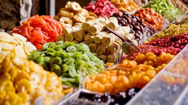 calorie frutta disidratata