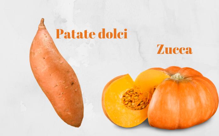 patate dolci e zucche difese